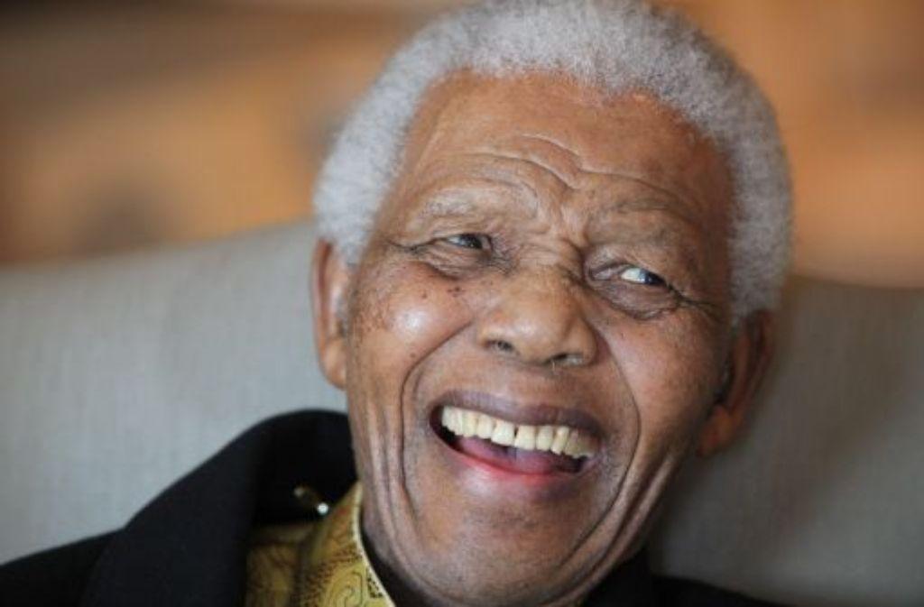 Nelson Mandela gilt als Lichtgestalt des ANC... Foto: epa