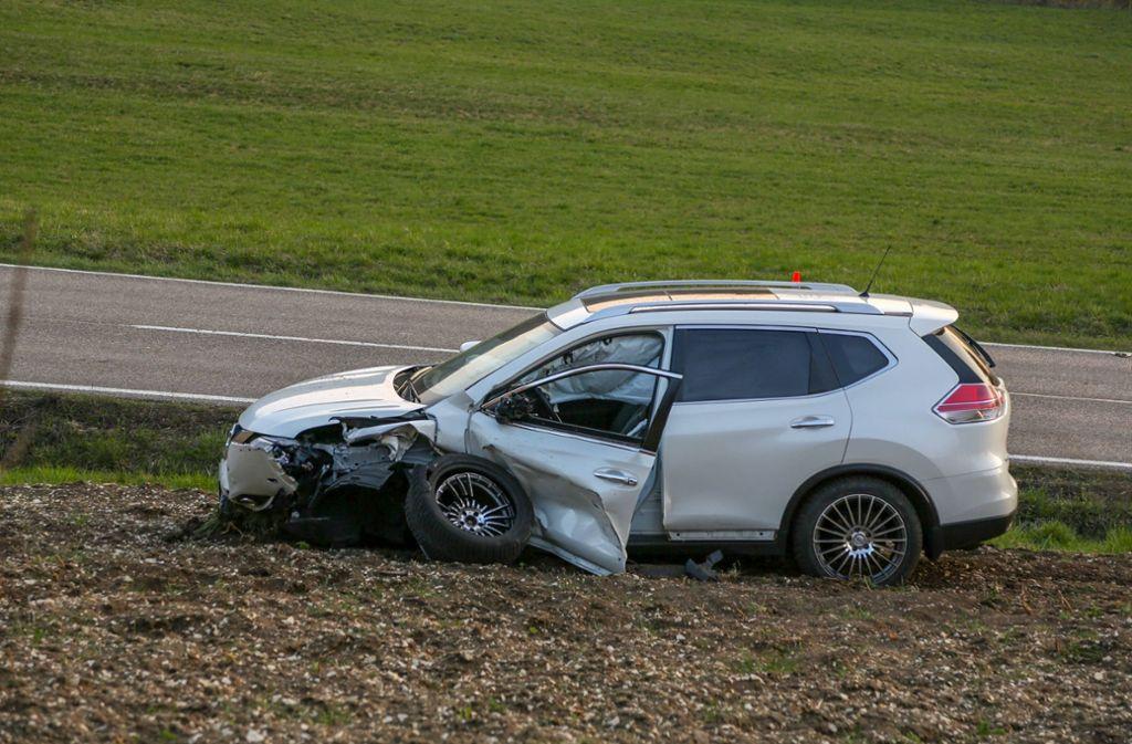 Der Nissan-Fahrer wurde schwer verletzt. Foto: 7aktuell.de/Christina Zambito
