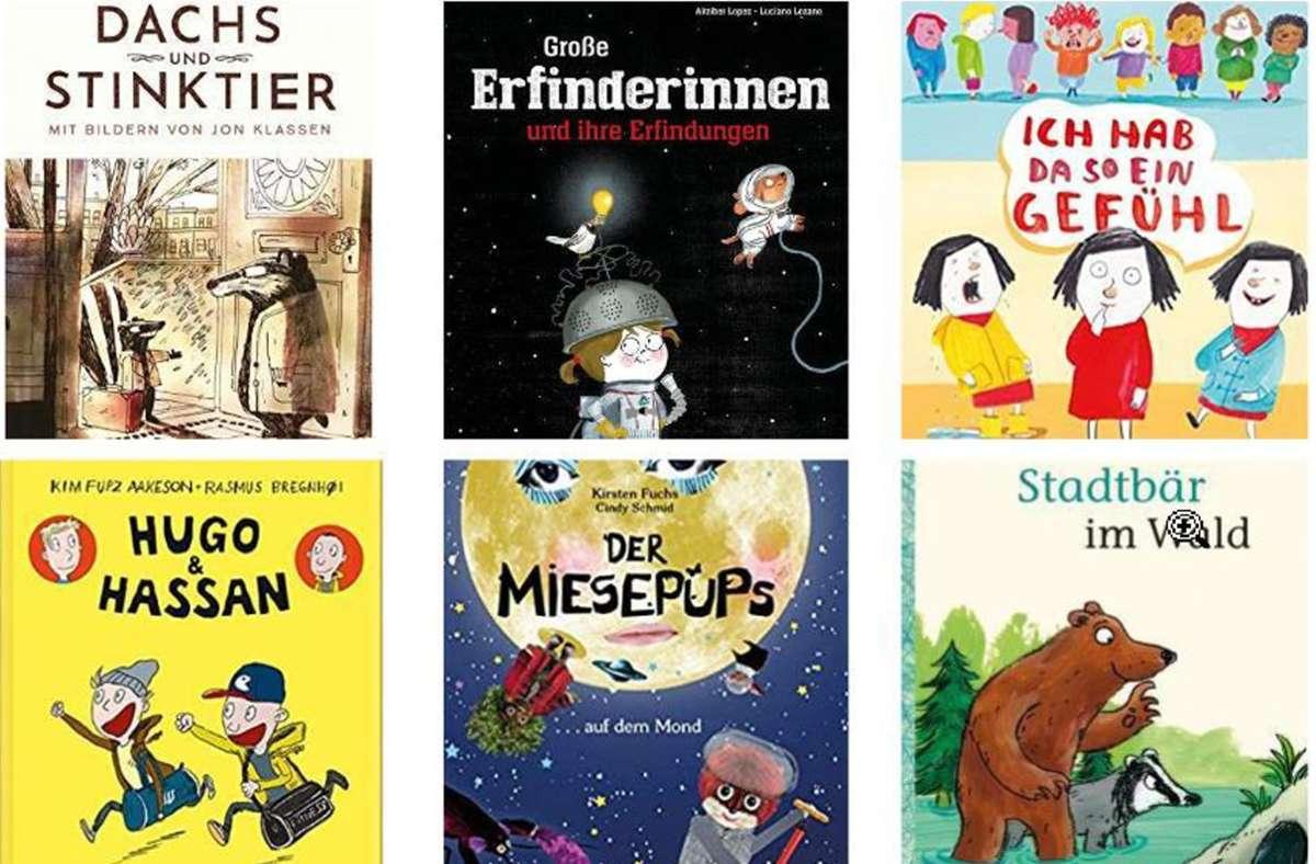 So viele tolle neue Bücher, die unbedingt gelesen werden müssen. Unser Tipps finden Sie in unserer Bildergalerie. Foto: Verlag/ Collage nja