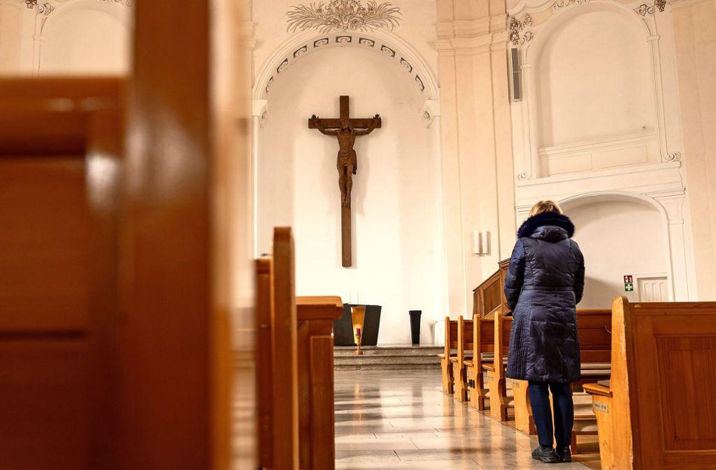Die evangelische Stadtkirche in Ludwigsburg: Viel voller wird sie an den kommenden Sonn- und Feiertagen nicht werden. Foto: factum/Jürgen Bach