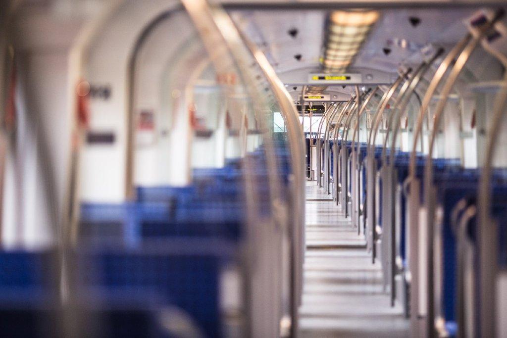Auf Testfahrt mit dem neuen S-Bahn-Zug der Linie S60 zwischen Böblingen und Renningen. Foto: www.7aktuell.de/Gerlach