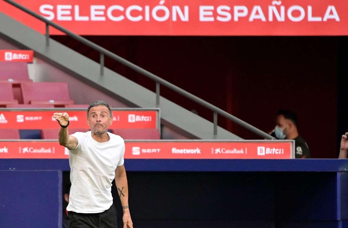 Der Wunsch des Trainers Luis Enrique wird erfüllt (Archivbild) Foto: AFP/JAVIER SORIANO