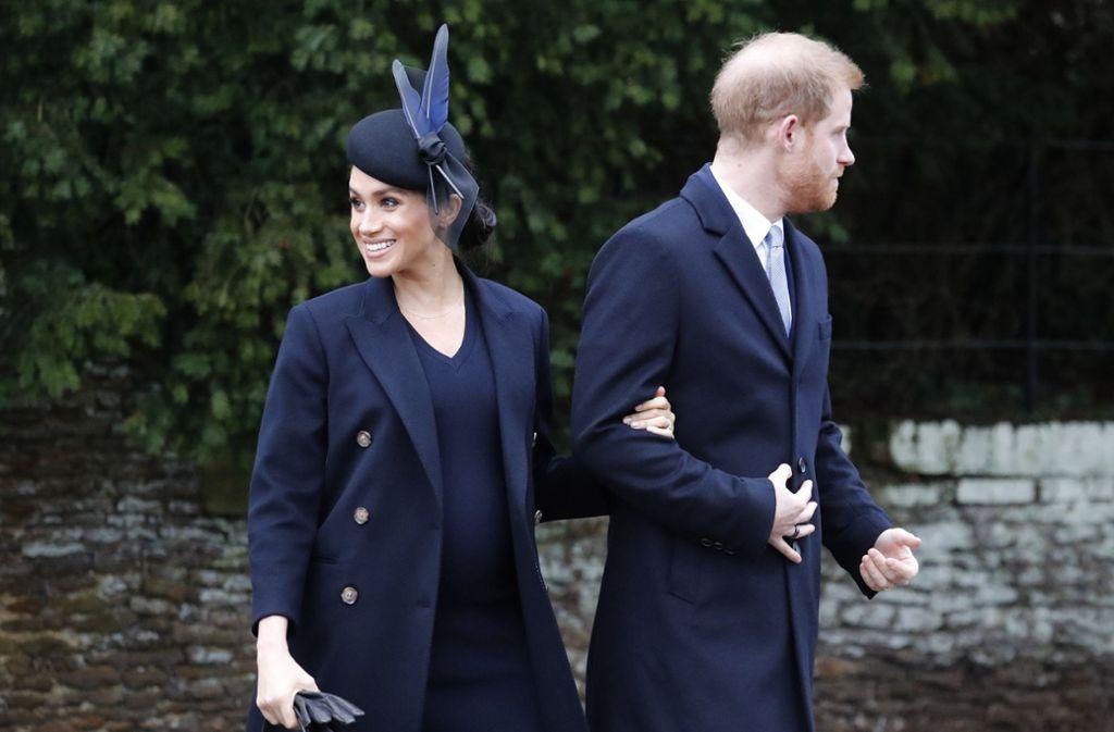 Platz 1: Herzogin Meghan von Sussex – mit neuen Outfits im Wert von geschätzten 479.000 Euro. Foto: AP