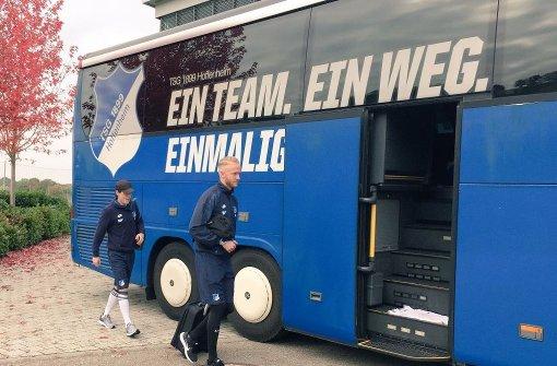 Kennzeichen von Hoffenheimer Mannschaftsbus geklaut