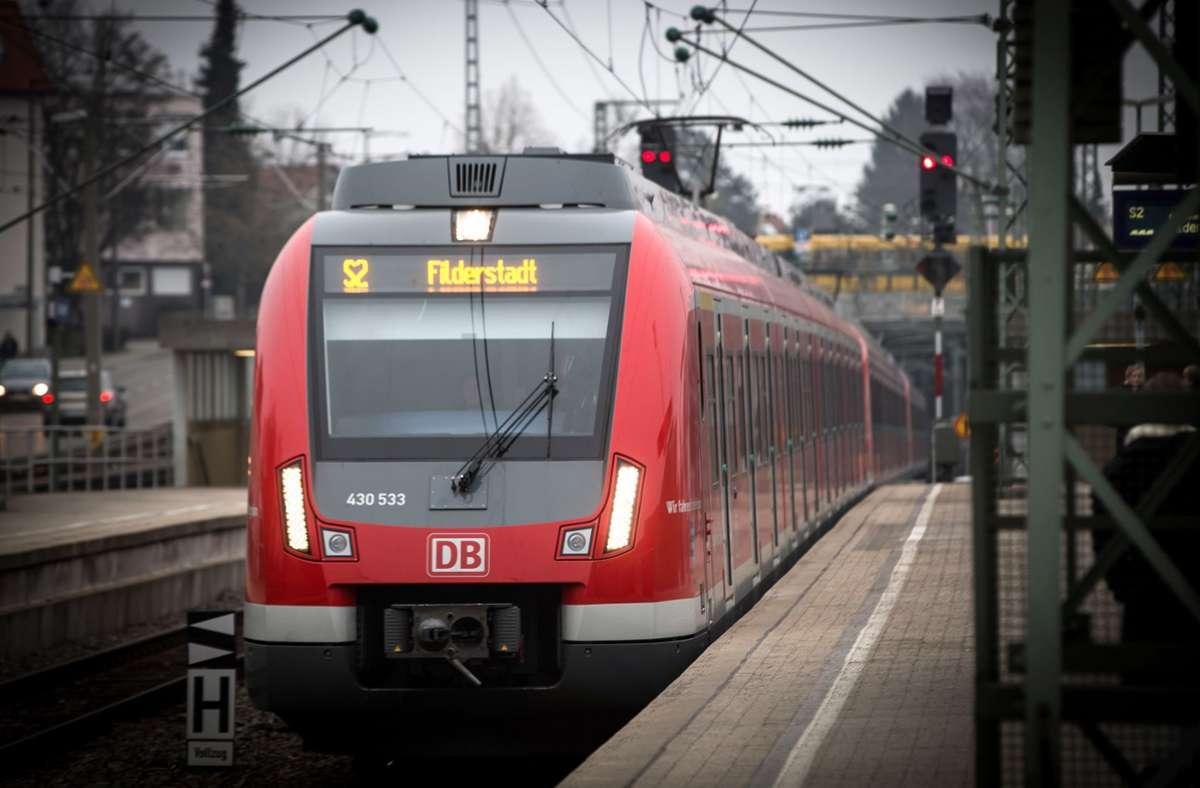 Künftig halten nicht nur S-Bahnen am Vaihinger Bahnhof Foto: Lichtgut/Achim Zweygarth