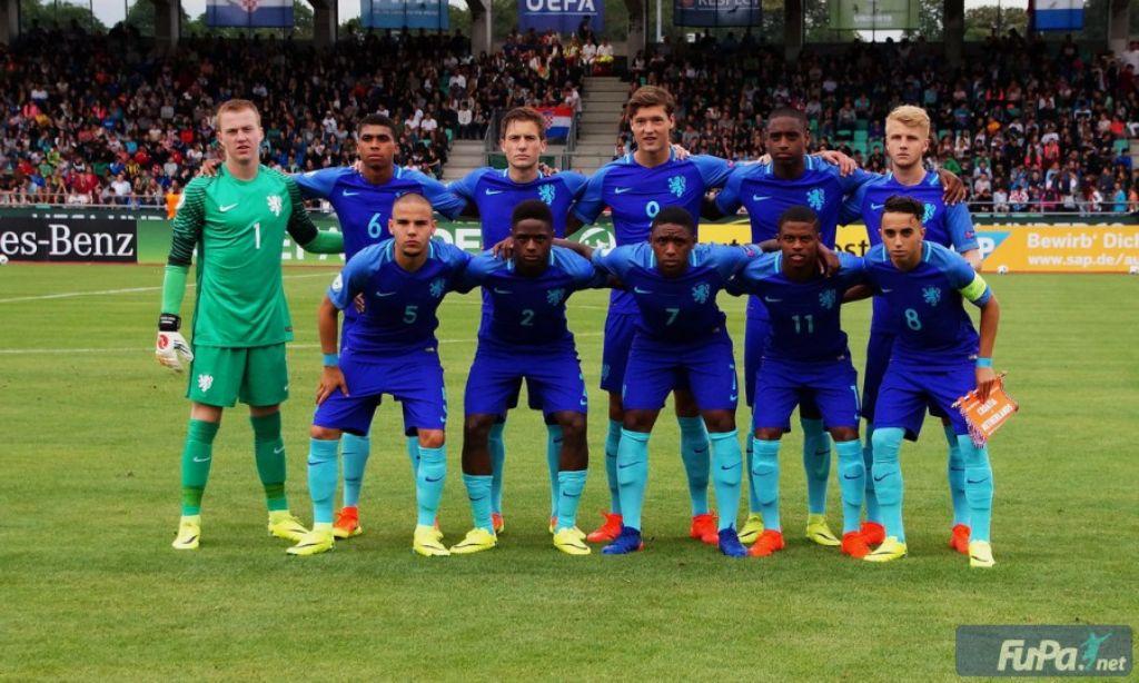 Die Niederländer konnten bei der U19 EM ihr erstes Spiel gewinnen. Foto: FuPa/Lucca Fundel