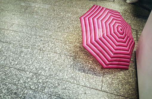 Wind und Regen am Wochenende