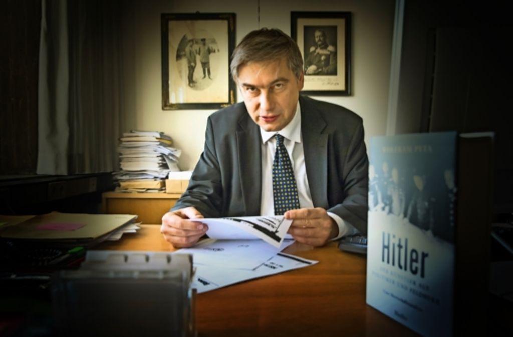 """""""Mit Hitler"""", sagt Wolfram Pyta, """"steigt einer   am musikdramatischen Schaffen Wagners  geschulter Künstler auf die politische Bühne."""" Foto: Achim Zweygarth/Lichtgut"""