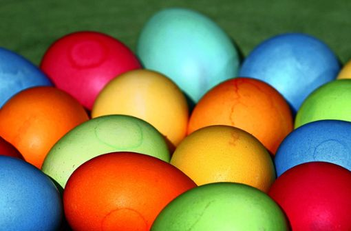 Deshalb sollte man Ostereier selbst färben