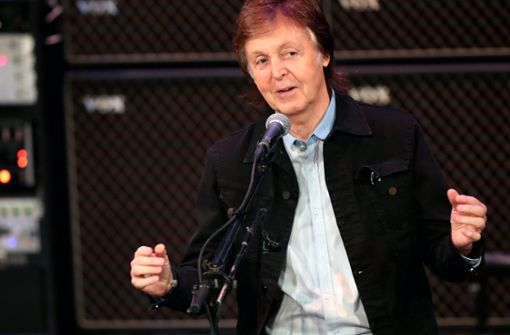 Mit Paul McCartney durch Liverpool