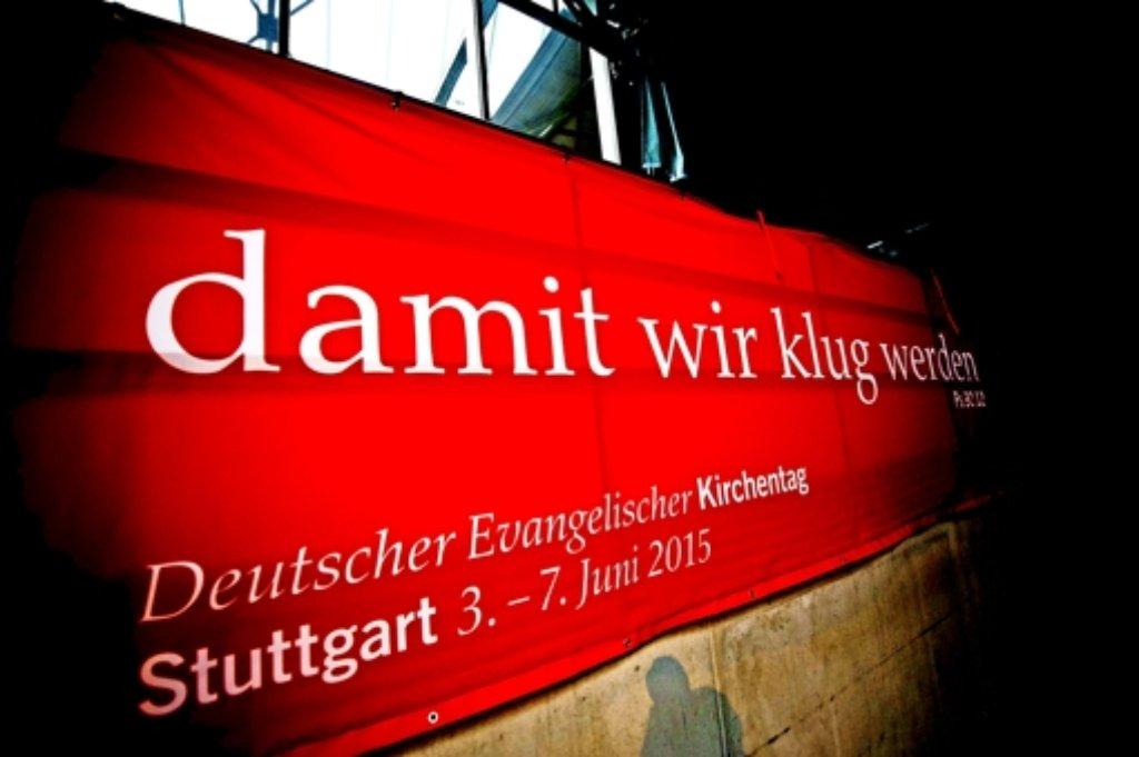 Der Evangelische Kirchentag in Stuttgart verlief aus Sicht der Polizei sehr ruhig. Foto: Max Kovalenko