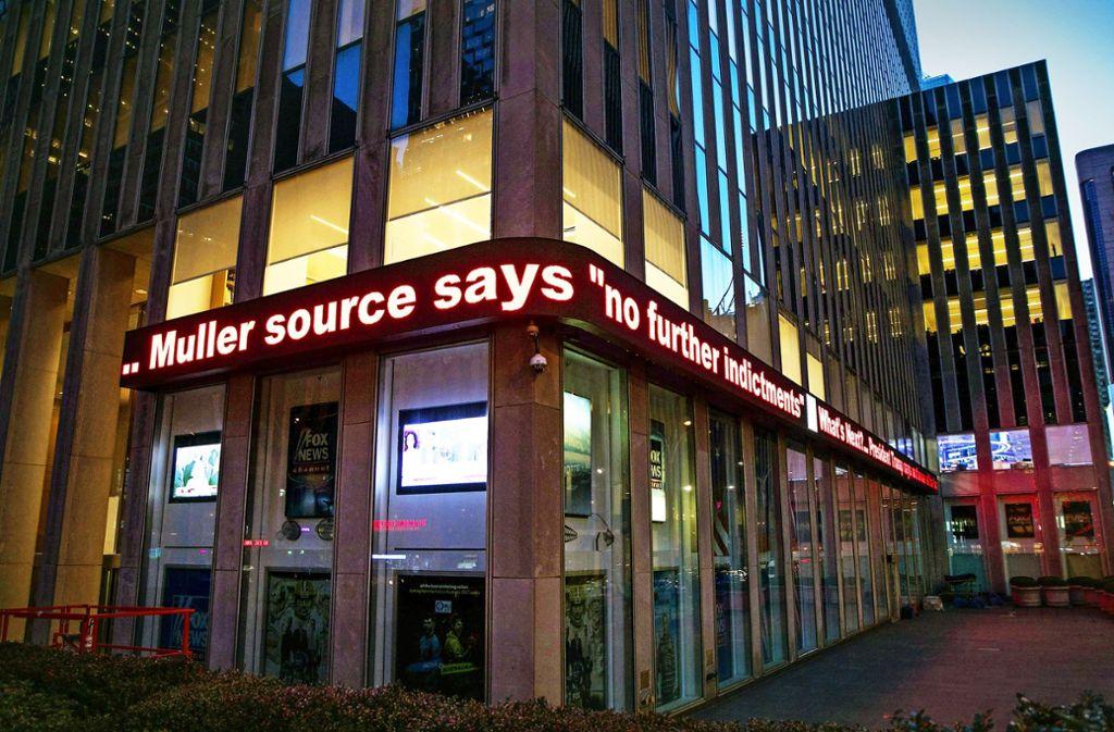 News Ticker in Foto: