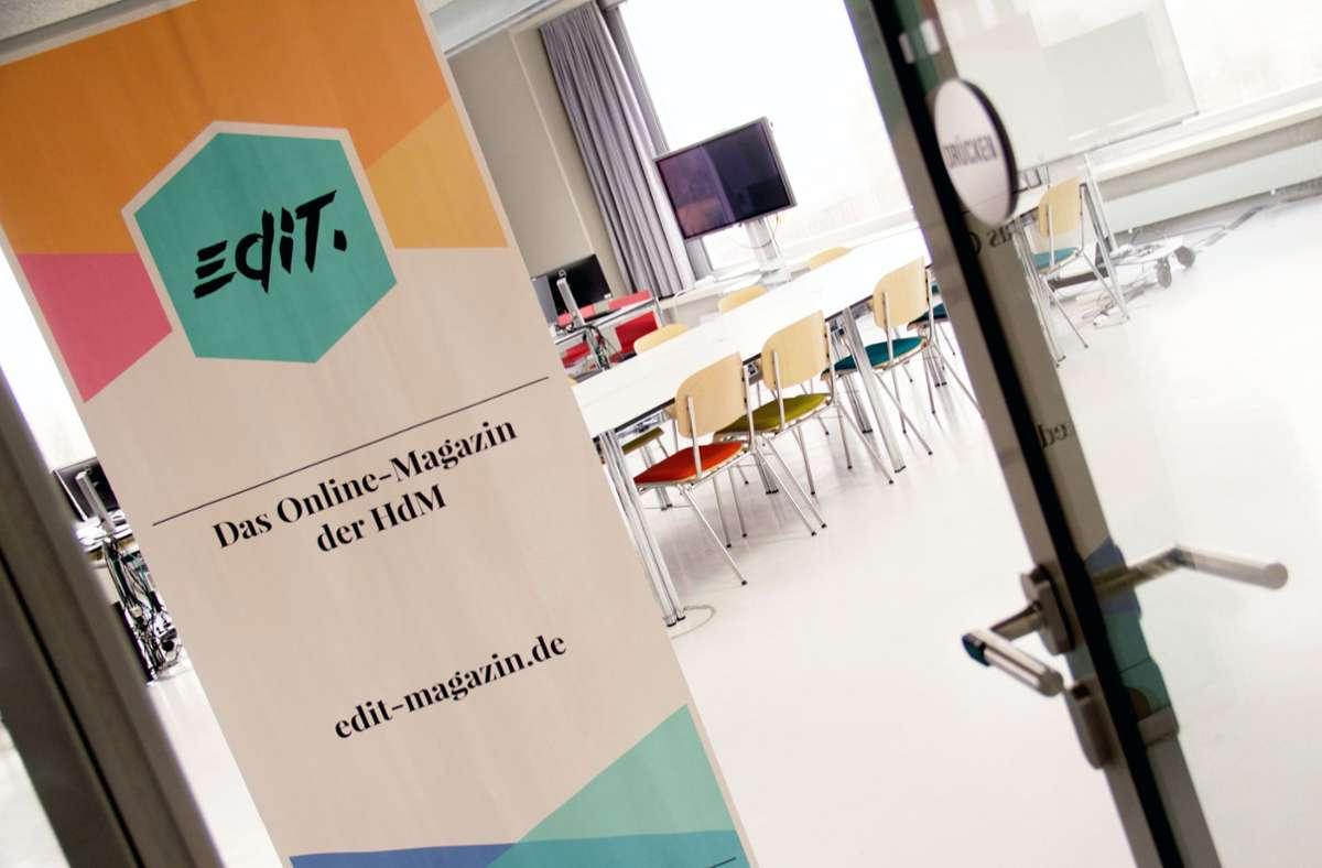 Ansehen kann man sich die Talk-Videos auf Instagram und Youtube, sowohl bei der Stuttgarter Zeitung/Stuttgarter Nachrichten  als auch bei edit. Foto: Hochschule der Medien