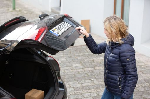 Der Kofferraum wird zur  Paketstation