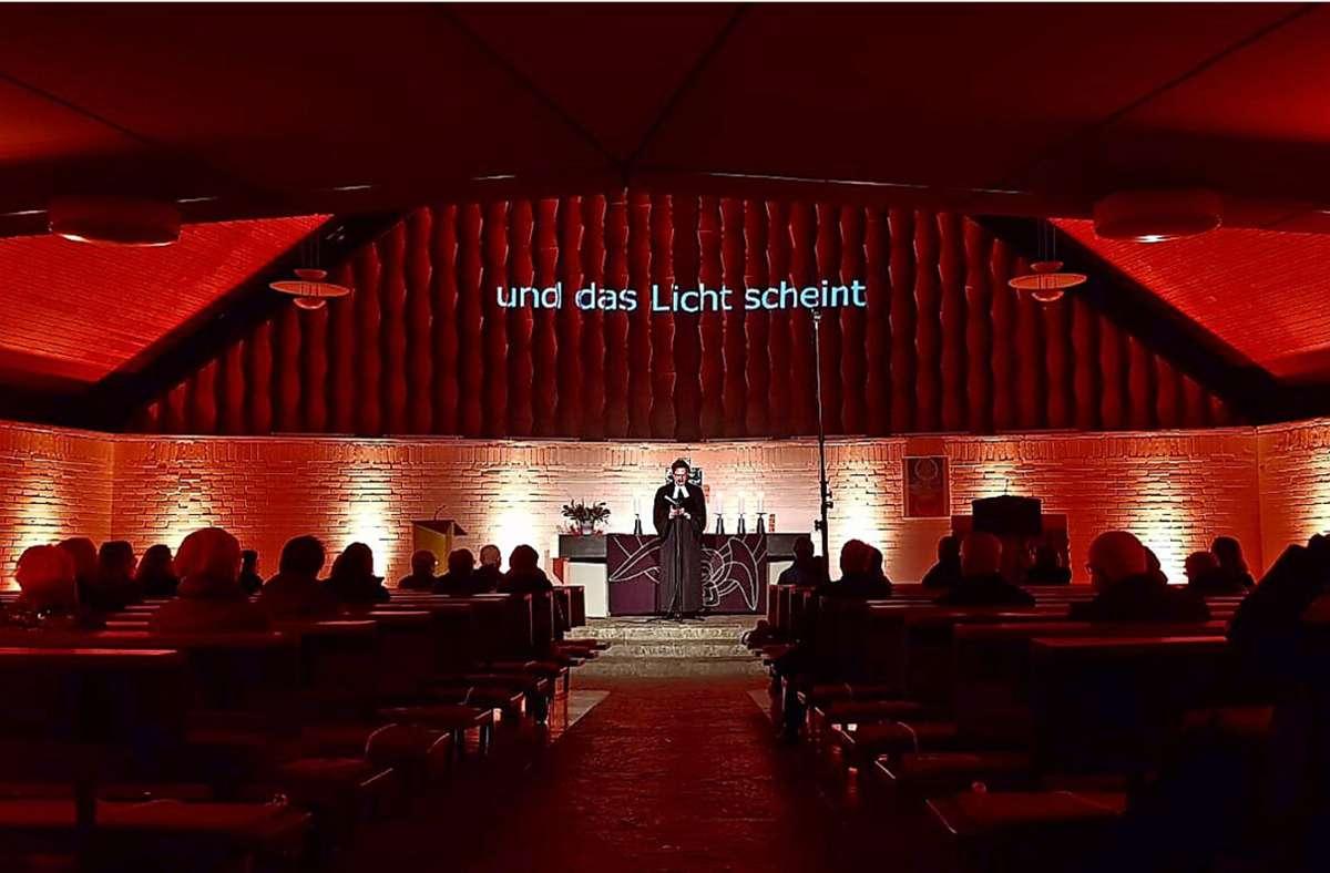Die Atmosphäre und die Akustik der Melanchthonkirche wurden viel gelobt und geschätzt. Foto: privat