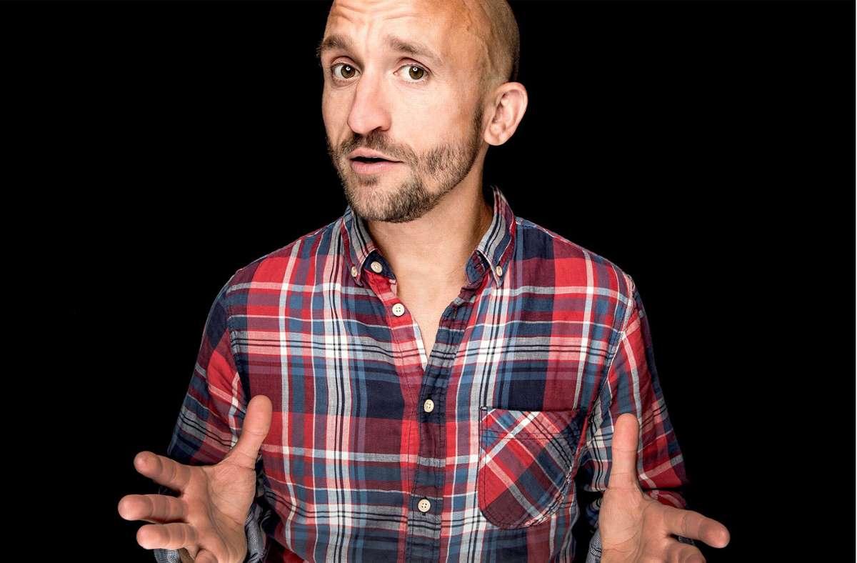 Der Kölner Comedian tritt am Freitag bei der CSD-Eröffnungsgala beim Stuttgarter Kastellsommer im Freien  im Römerkastell auf. Foto: Stefan Mager