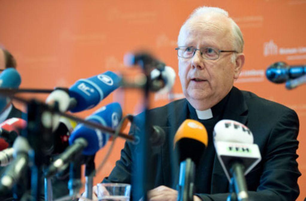 Nach dem Rücktritt seines Vorgängers Tebartz-van Elst wird Grothe als Apostolischer Administrator die Amtsgeschäfte im Bistum Limburg führen. Foto: dpa