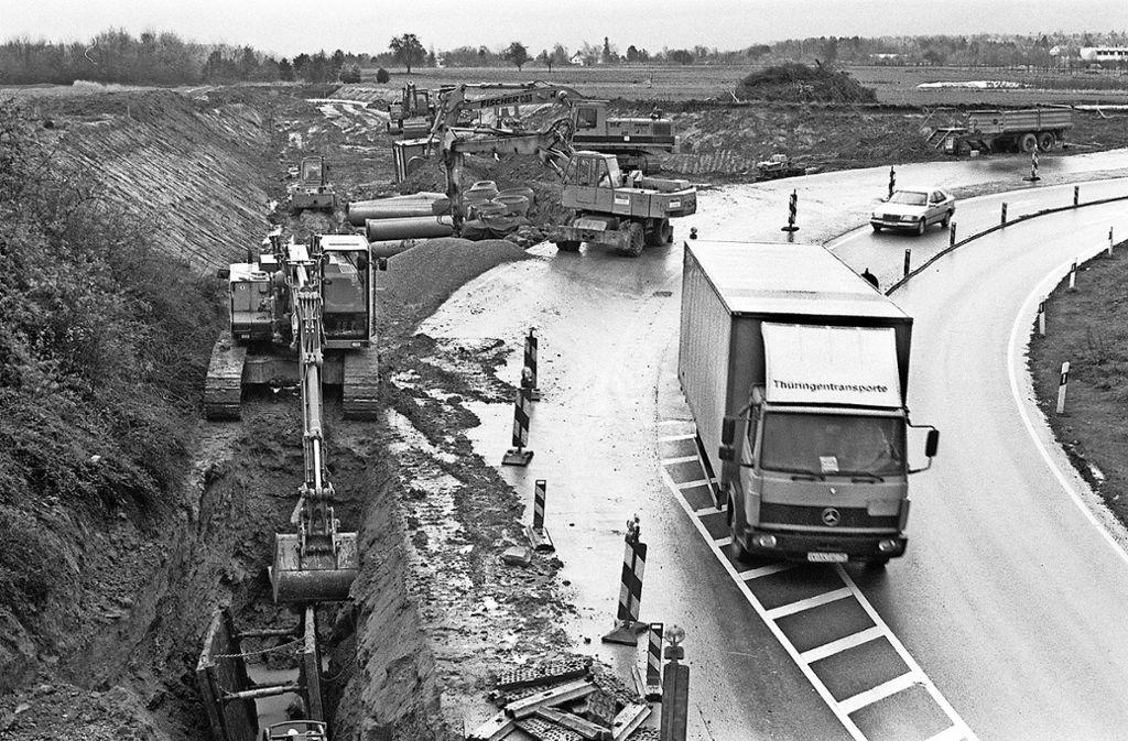 Die  Nord-Süd-Straße  brachte a Foto: Archiv Factum/Mellenthin