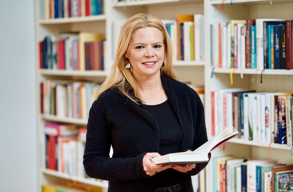 Caroline Grafe will die Menschen zum Lesen bringen. In ihrer neuen Reihe fokussiert sie sich auf Autorinnen. Foto: privat