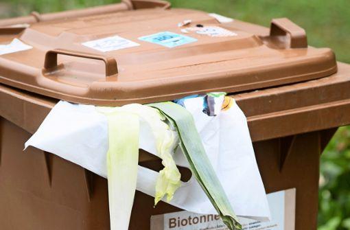Biomüll: Jede zehnte Tonne  bleibt stehen