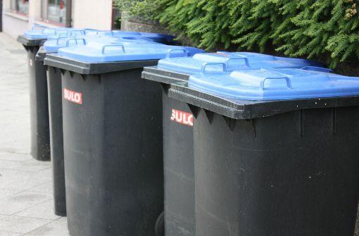 Abfallkalender wird verteilt