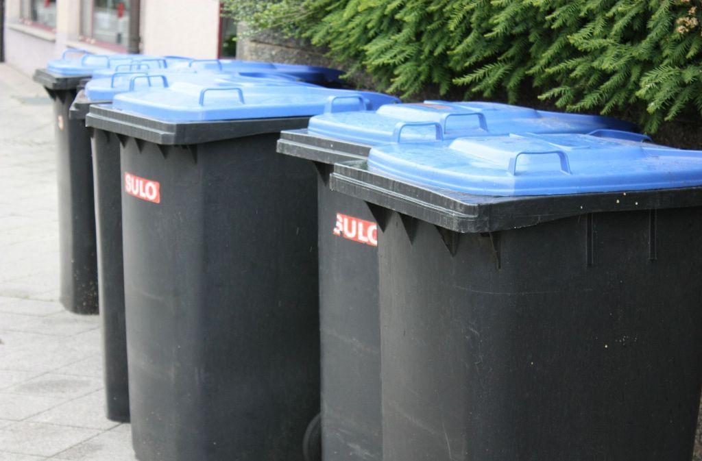 Wann wird der Müll abgeholt? Foto: dpa