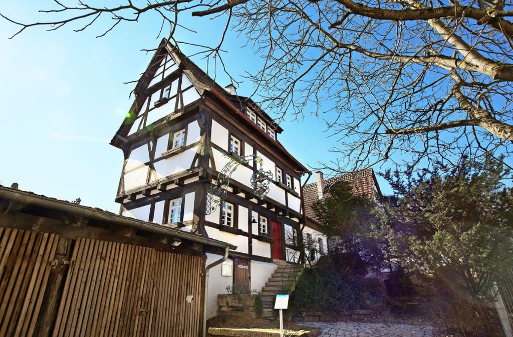 Bereits seit Sommer 2018 ist die Alte Vogtei in Köngen geschlossen. Foto: Horst Rudel
