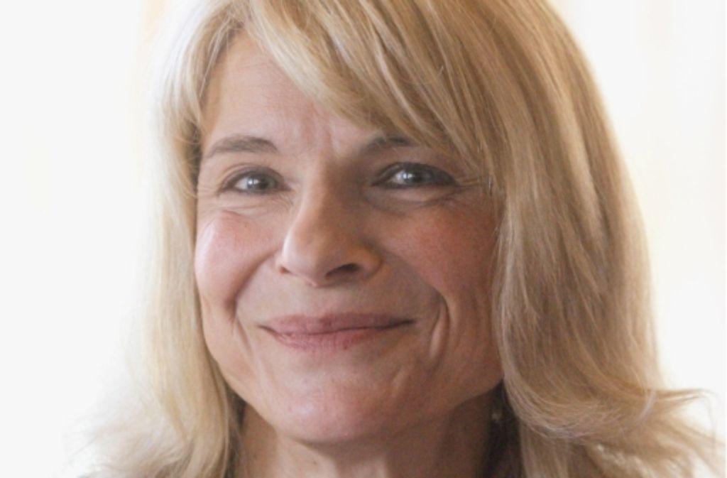 Die OB-Kandidatin Marion Furtwängler. Foto: dpa