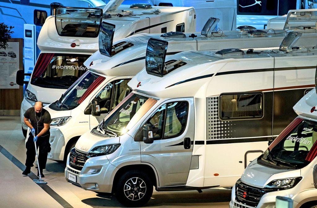 Cmt In Stuttgart Die Hersteller Von Wohnmobilen Experimentieren Mit