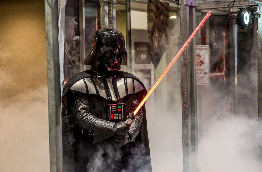 Darth Vader aus Star Wars ist ein Thema Foto: Lichtgut/Julian Rettig