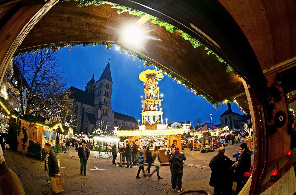 Wer es so ruhig auf dem Mittelalter- und Weihnachtsmarkt haben möchte, sollte erfahrungsgemäß an den ersten Tagen kommen und die Wochenenden meiden. Foto: Horst Rudel