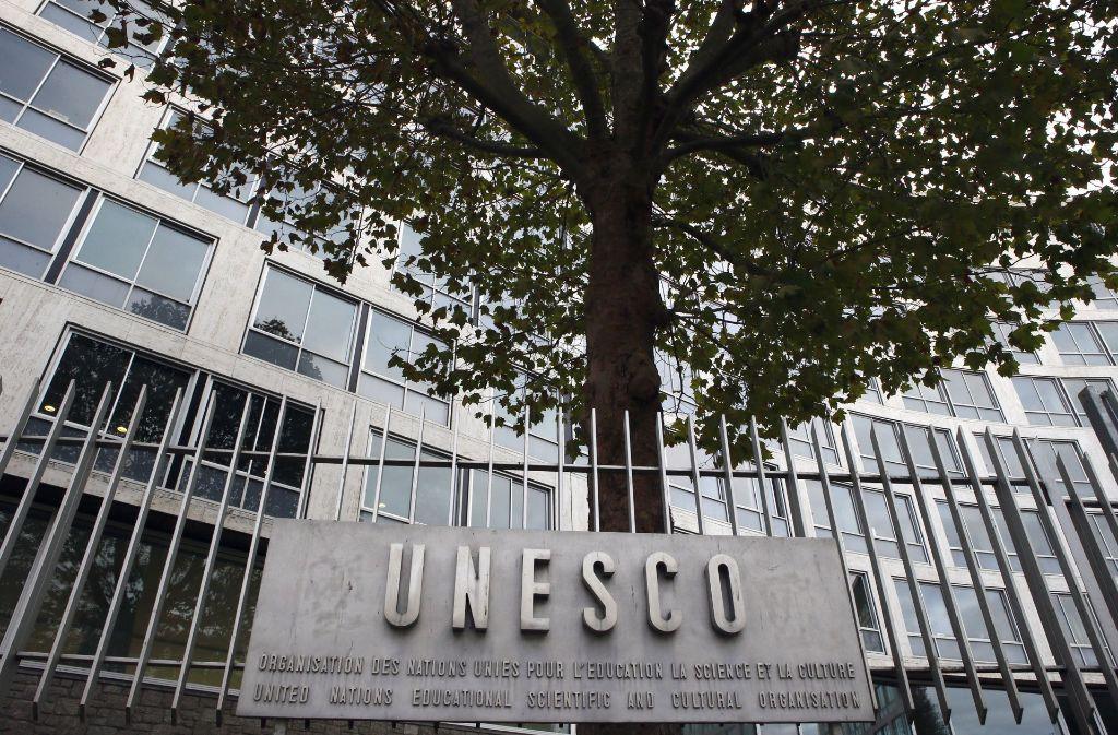 USA hatten ihre Beitragszahlungen an die Unesco bereits 2011 eingestellt. Foto: AP