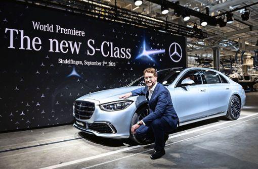 Daimler-Werk Sindelfingen steht