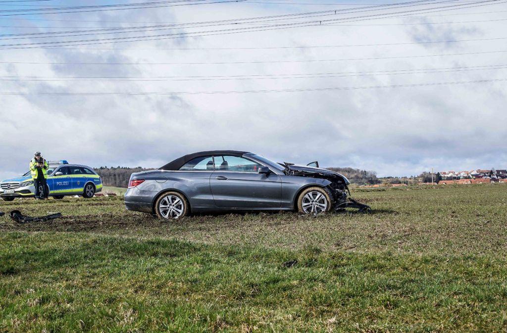 Bei dem Unfall wurden vier Personen verletzt. Foto: SDMG/Dettenmeyer