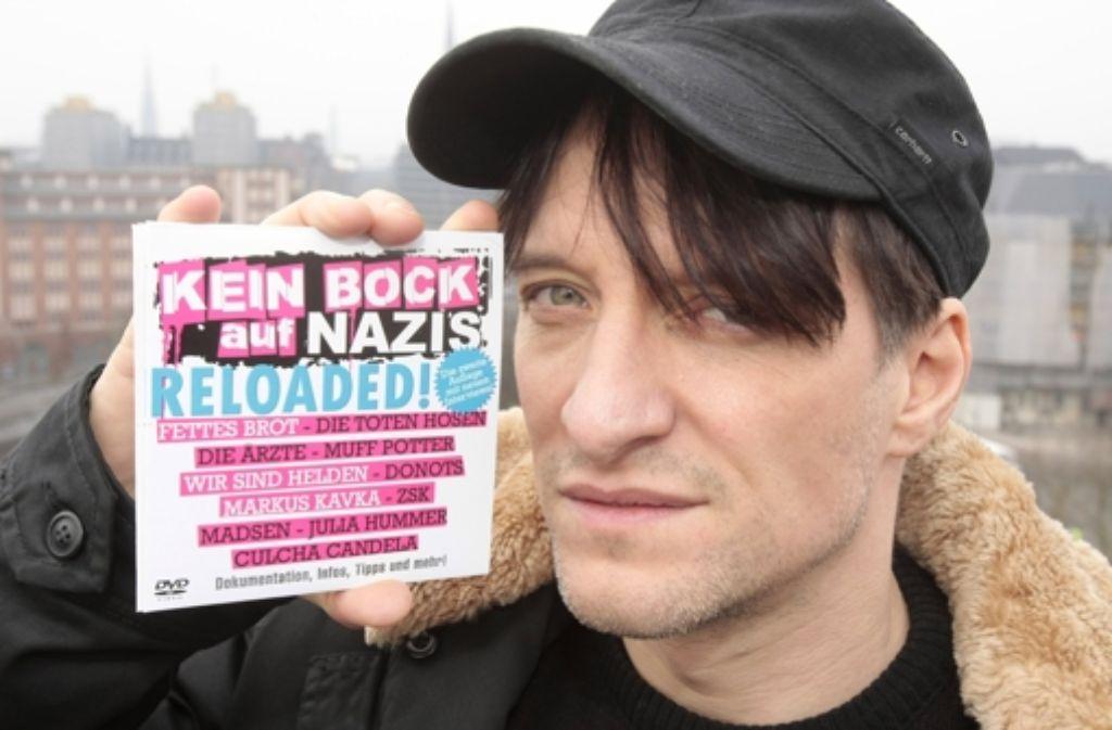 Die Ärzte und andere Bands engagieren sich gegen Nazis. Foto: dpa