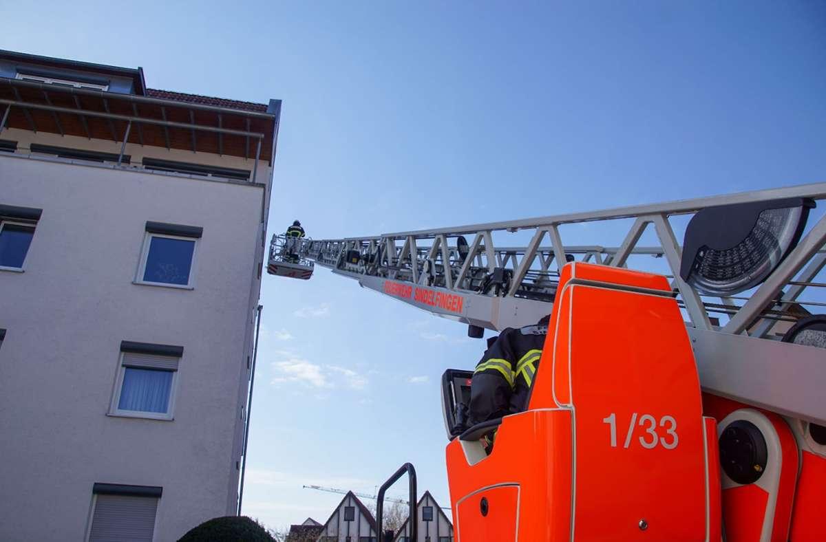 Feuerwehreinsatz in Sindelfingen Foto: SDMG