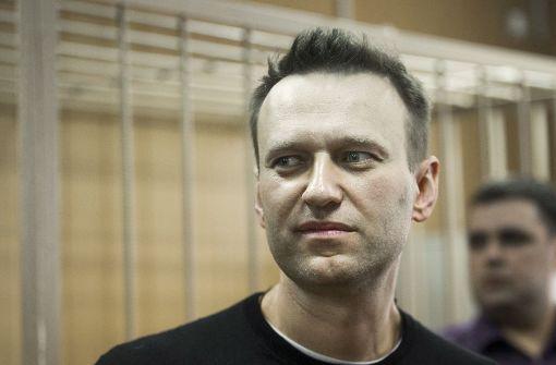 15 Tage Arrest für Kreml-Kritiker Nawalny