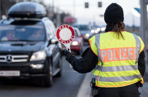 EU dringt auf Ende der Grenzkontrollen