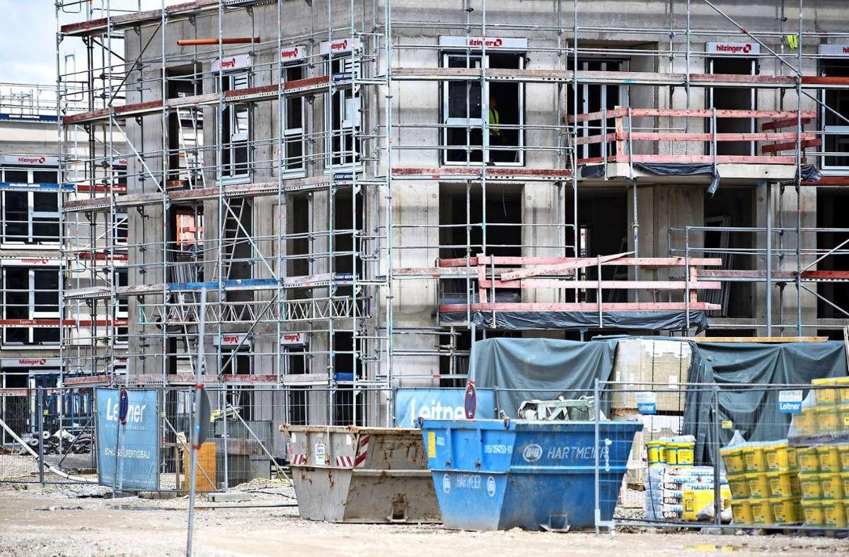 Wohnungsbau ist dringend notwendig, doch eine Nachverdichtung oft nicht gern gesehen. Foto: dpa/Sven Hoppe