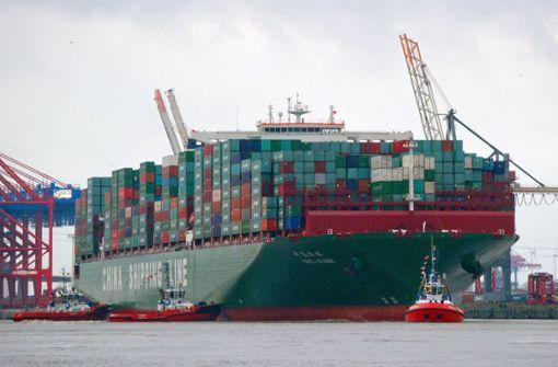 China ist eine Macht auf dem Meer
