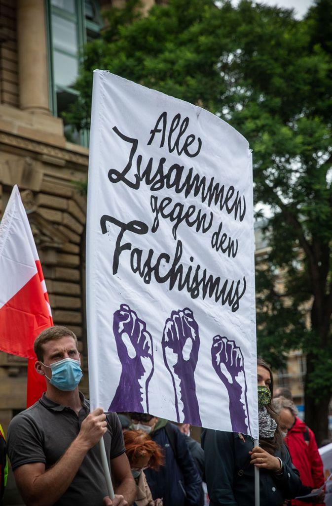 Demo gegen Faschismus Foto: Lichtgut/Piechowski