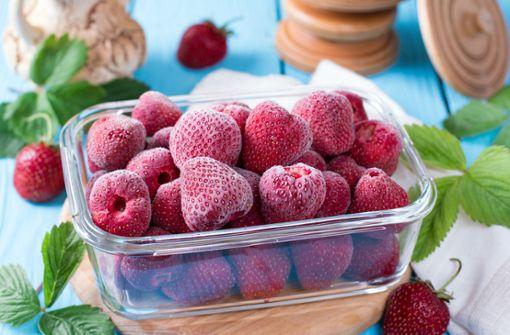 Erdbeeren einfrieren ist ganz einfach