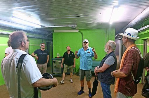 Verein präsentiert seine Pläne für Kultur im Bunker