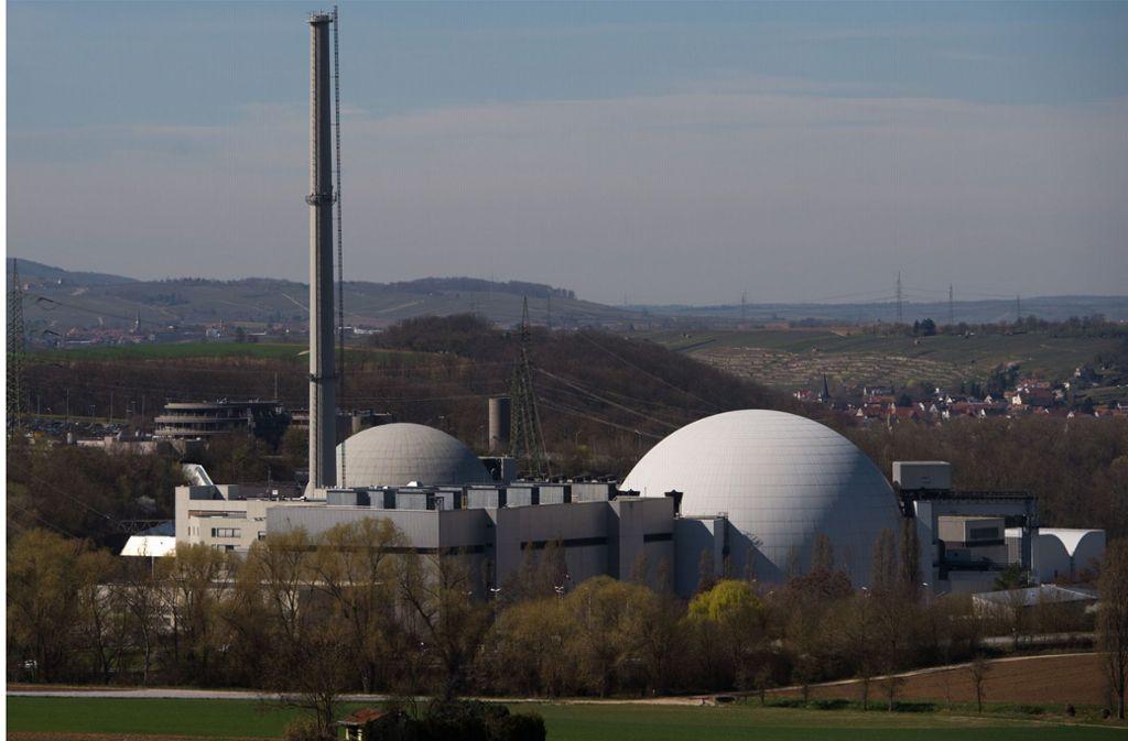 Das Kernkraftwerk Neckarwestheim (Archivbild) Foto: dpa