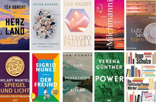 Die zehn wichtigsten Romane des Frühjahrs