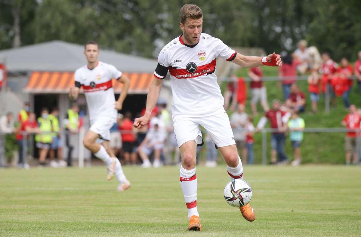 Sven Schipplock spielte bei seinem ersten Spiel für die U21 des VfB Stuttgart 45 Minuten. Foto: Baumann/Hansjürgen Britsch