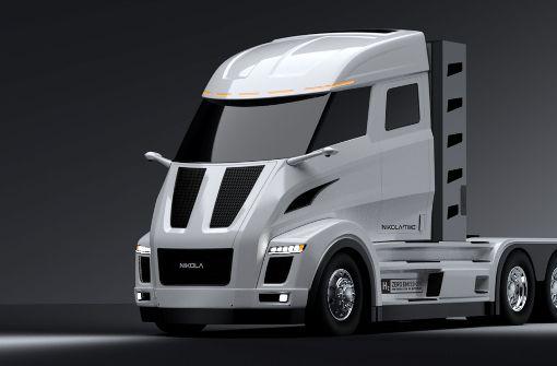 Bosch und Nikola entwickeln E-Truck