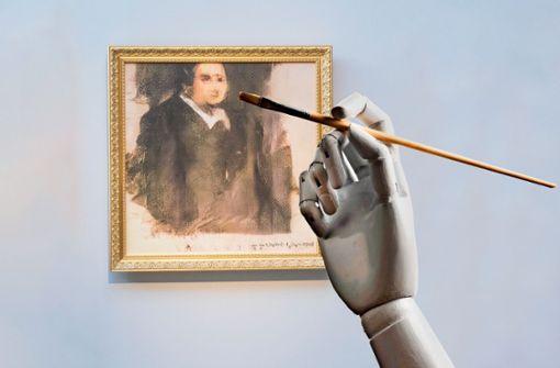 Wenn der Künstler eine Maschine ist