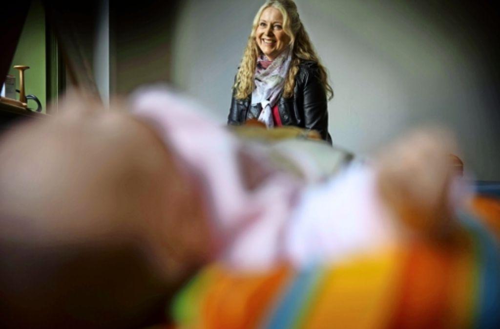 Die Familienhebamme Birgit Bauder Foto: Stoppel