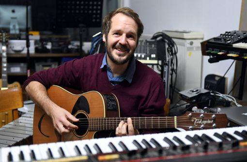 Stadtmusikant auf Landpartie